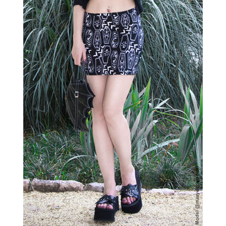 skirt women's TOO FAST - MERCY - COFFINS, TOO FAST