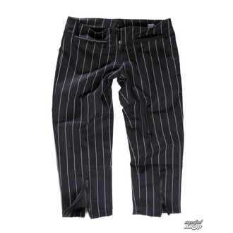 pants women 3/4 Mode Wichtig - Zip Slacks Pin Stripe, MODE WICHTIG