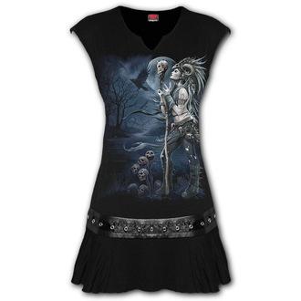 Women's dress SPIRAL - RAVEN QUEEN, SPIRAL