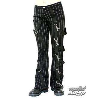 pants women Aderlass - Cross Pants Pin Stripe (Black-White) - A-1-14-050-01