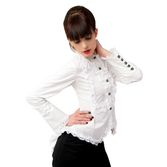 blouse women's Aderlass - Wing Blouse Fine Denim White - A-4-43-001-01