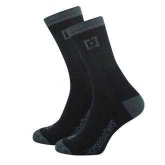 Socks HORSEFEATHERS - JAYDEN - BLACK - AA1017C