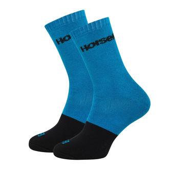 Socks HORSEFEATHERS - MILTON - BLUE - AA1019C