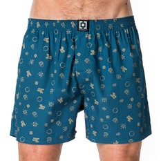 Men's Boxer Shorts HORSEFEATHERS - APOLLO - Citronella