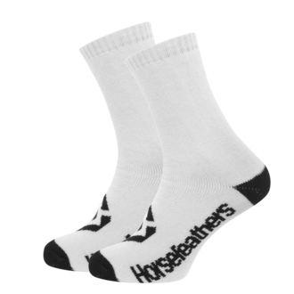 Socks HORSEFEATHERS - LOBY - WHITE, HORSEFEATHERS