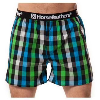Men's Boxer Shorts HORSEFEATHERS - APOLLO - GREEN - AA536E