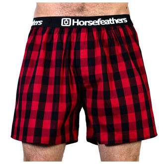Men's Boxer Shorts HORSEFEATHERS - APOLLO - CHILLI, HORSEFEATHERS