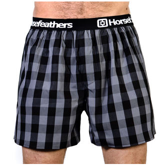 Men's Boxer Shorts HORSEFEATHERS - APOLLO - GRAY, HORSEFEATHERS
