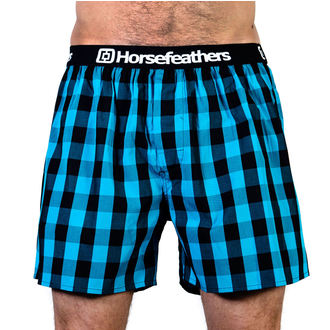 Men's Boxer Shorts HORSEFEATHERS - APOLLO - METHYL BLUE, HORSEFEATHERS