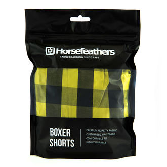 Men's Boxer Shorts HORSEFEATHERS - APOLLO - Citronella, HORSEFEATHERS