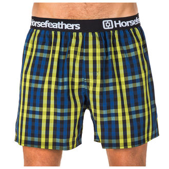 Men's Boxer Shorts HORSEFEATHERS - APOLLO - LIME GREEN, HORSEFEATHERS