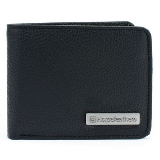 Wallet HORSEFEATHERS - BRAD - BLACK, HORSEFEATHERS