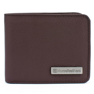 Wallet HORSEFEATHERS - BRAD - BROWN, HORSEFEATHERS