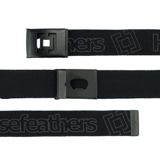 Belt HORSEFEATHERS - IDOL - BLACK, HORSEFEATHERS