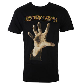 t-shirt metal men's System of a Down - HAND - BRAVADO, BRAVADO, System of a Down