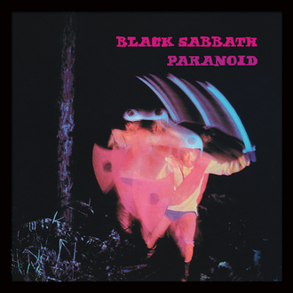 Framed poster Black Sabbath (Paranoid) - PYRAMID POSTERS, PYRAMID POSTERS, Black Sabbath