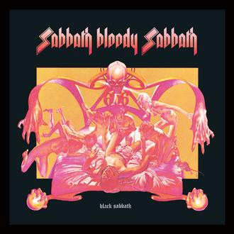 Framed poster Black Sabbath - (&&string0&&) - PYRAMID POSTERS, PYRAMID POSTERS, Black Sabbath