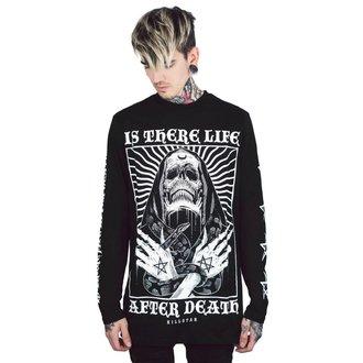 Men's  long sleeve t-shirt KILLSTAR - Afterlife - BLACK - KSRA000556