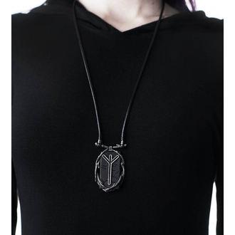 Necklace KILLSTAR - Algiz Rune - SILVER, KILLSTAR