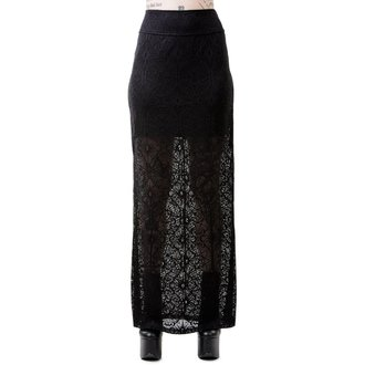 Skirt Women's KILLSTAR - ANGELINA - BLACK, KILLSTAR