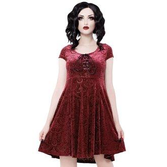 Women's dress KILLSTAR - Angelyn - WINE, KILLSTAR