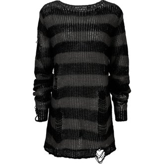 Sweater KILLSTAR - Ash Distress - BLACK - KSRA000827