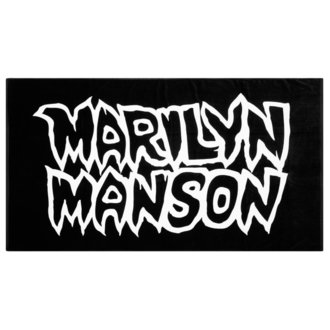 towel KILLSTAR - MARILYN MANSON - Avoid The Sun - Black, KILLSTAR, Marilyn Manson