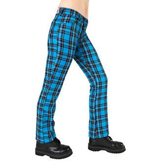 pants Black Pistol - Hipster Tartan Light Blue, BLACK PISTOL