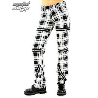 pants women Black Pistol - Destroy Pants Tartan (Black / White) - B-1-20-060-01