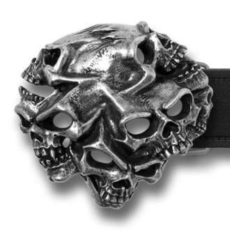 buckle Gestalt Skull ALCHEMY GOTHIC, ALCHEMY GOTHIC