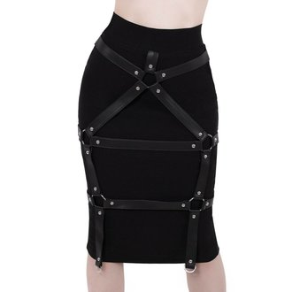 Women's skirt KILLSTAR - Bad Bonds - BLACK, KILLSTAR