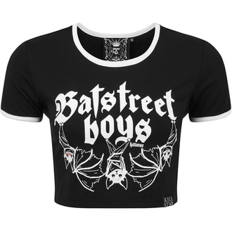 Women's t-shirt (top) KILLSTAR - Bat Street Boys Crop - KSRA002299