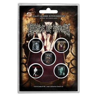 Badges Cradle Of Filth - Albums - RAZAMATAZ - BB044