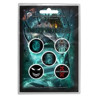 Badges Disturbed - Evolution - RAZAMATAZ - BB059