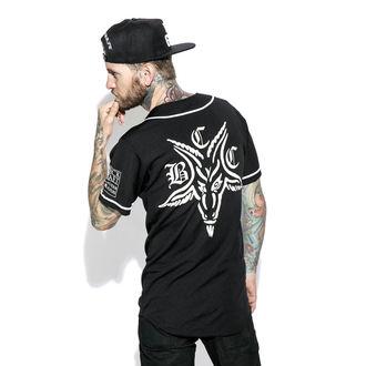 shirt (unisex) BLACK CRAFT - Team Satan Baseball Jersey, BLACK CRAFT