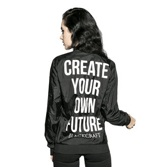 spring/fall jacket unisex - Create Your Own Future - BLACK CRAFT, BLACK CRAFT