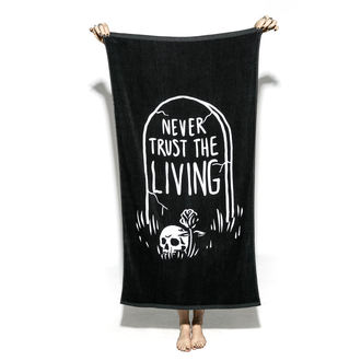 Towel (bath towel) BLACK CRAFT - Never Trust The Living, BLACK CRAFT