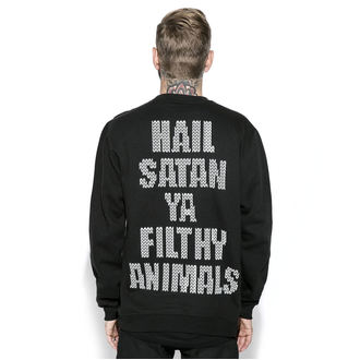sweatshirt (no hood) men's - Black Metal Rudolph - BLACK CRAFT, BLACK CRAFT