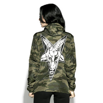 spring/fall jacket unisex - Baphomet - BLACK CRAFT, BLACK CRAFT