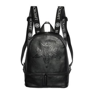 Backpack BLACK CRAFT - Goat Embossed, BLACK CRAFT