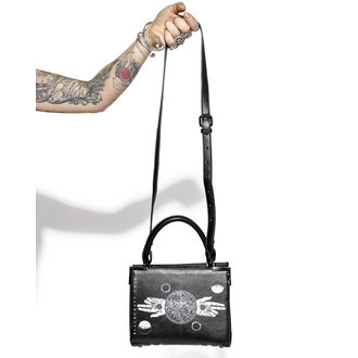 Handbag (bag) BLACK CRAFT - Two Finger Salute Mini Satchel, BLACK CRAFT