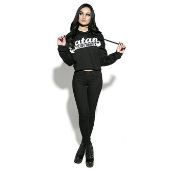 hoodie women's - Satan Is My Daddy - BLACK CRAFT, BLACK CRAFT