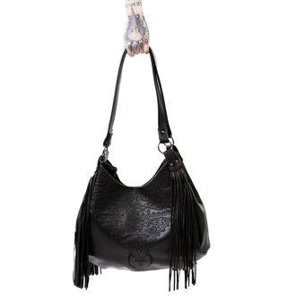 Purse (Handbag) KILLSTAR - BELLADONNA FRINGE - BLACK, KILLSTAR