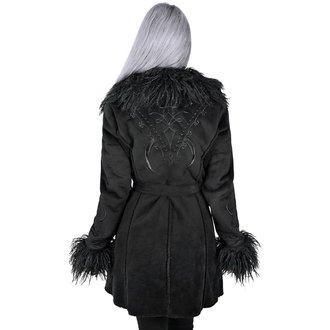 Women's coat KILLSTAR - Belladonna Shearling - BLACK, KILLSTAR