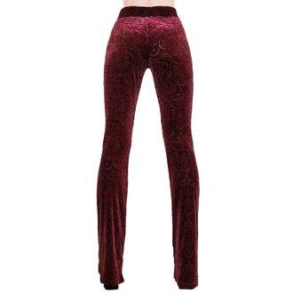 Women's pants KILLSTAR - Bellatrix - WINE, KILLSTAR