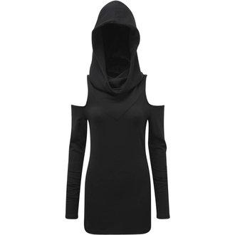 t-shirt women's - BIBLIOMANCY- BLACK - KILLSTAR