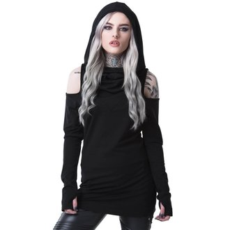 t-shirt women's - BIBLIOMANCY- BLACK - KILLSTAR, KILLSTAR