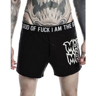 boxer shorts men KILLSTAR - MARILYN MANSON - God Of Fuck - Black, KILLSTAR, Marilyn Manson