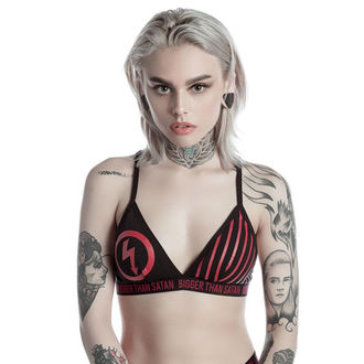 bra women's KILLSTAR - MARILYN MANSON - Bigger Than Satan - Black, KILLSTAR, Marilyn Manson