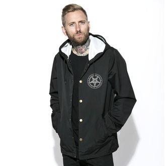 spring/fall jacket - Baphomet - BLACK CRAFT